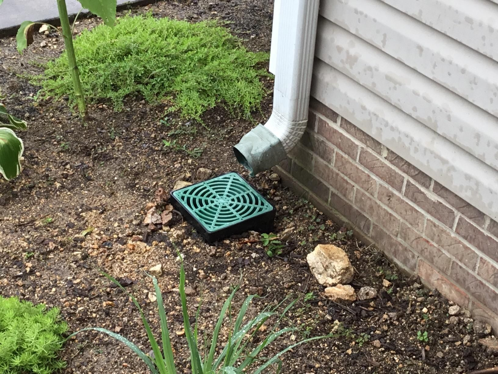 The Stormdrain Fsd 090 K 9 Inch Square Catch Basin And Green Grate