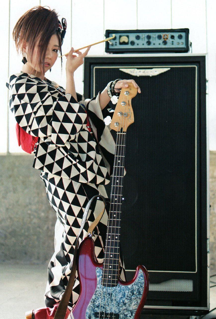 SCANDAL JAPAN BAND WALLPAPER 着物 かわいい, スキャンダル バンド, ベースギター