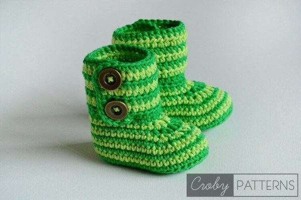 8.how to crochet baby booties step by step free pattern on youtube ...
