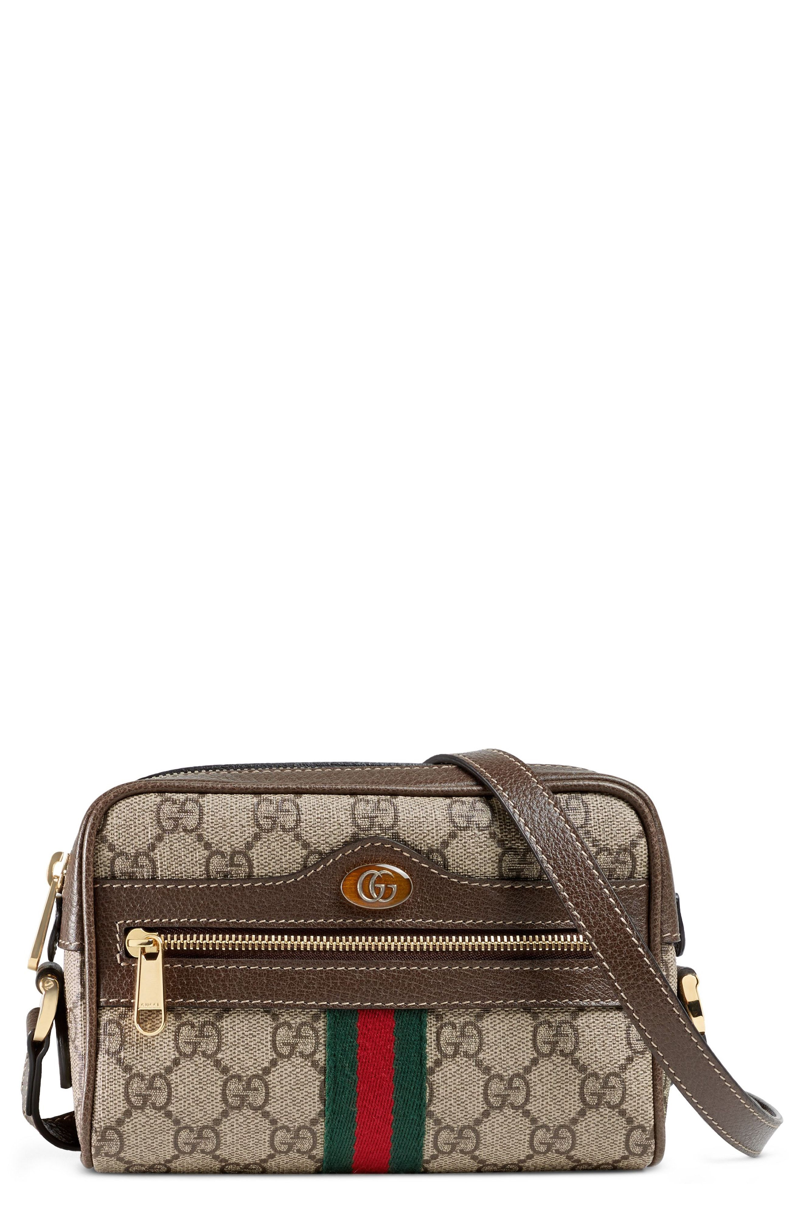 da952d829e0 Gucci Ophidia Small GG Supreme Canvas Crossbody Bag available at  Nordstrom