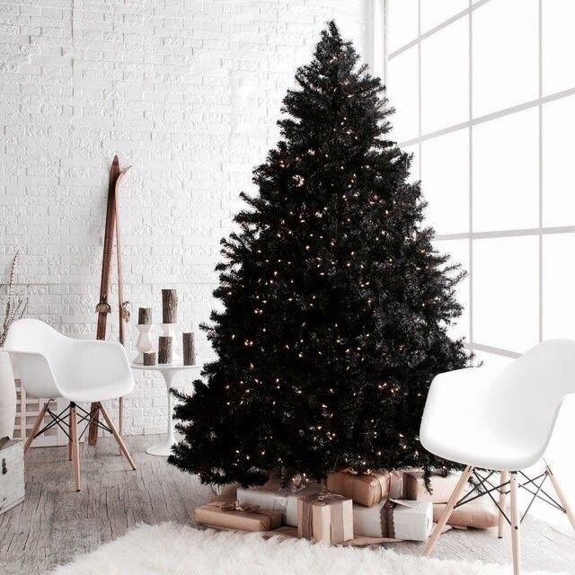 minimal christmas decor
