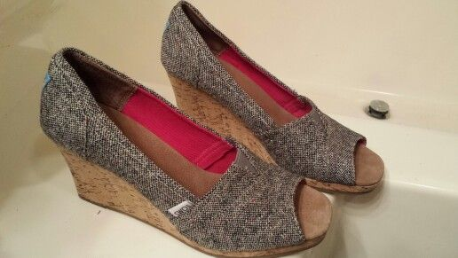 Can't wait to wear my Toms!