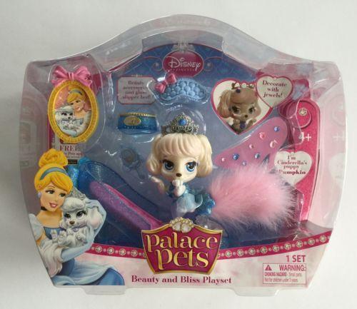 Disney Princess Palace Pets Cinderella Beauty And Bliss Playset