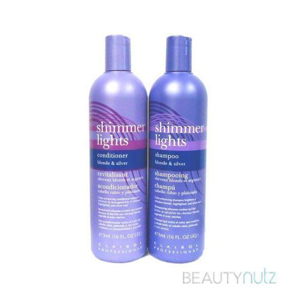 Clairol Shimmer Lights Shampoo Blonde Silver Conditioners 16 Oz Shimmer Lights Shampoo Clairol Shimmer Lights Purple Shampoo