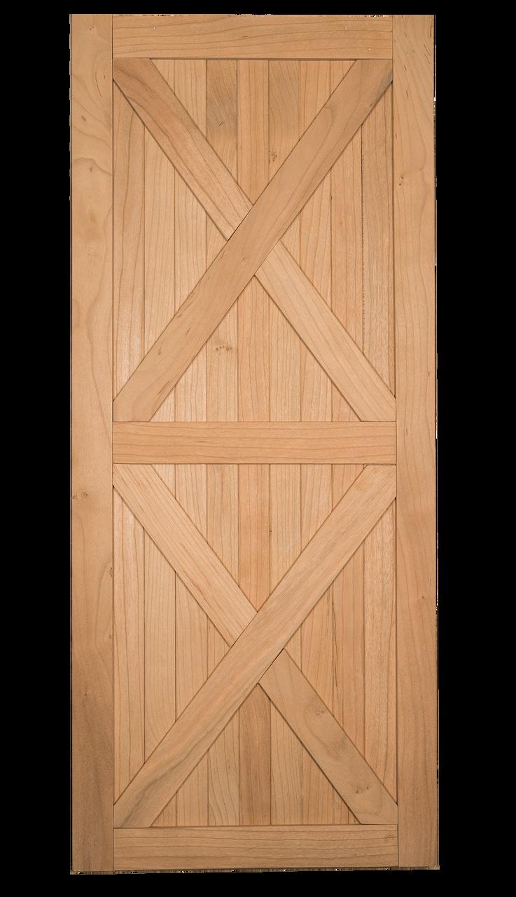 Barn Door Sale Double X Brace Pine Barn Door Fully Assembled