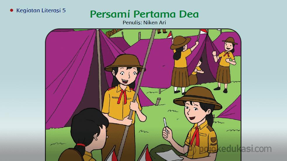 Kunci Jawaban Buku Siswa Tematik Tema 6 Panas Dan Perpindahannya Kelas 5 Halaman 213 214 Kegiatan Literasi 5 Literasi Buku Kartun