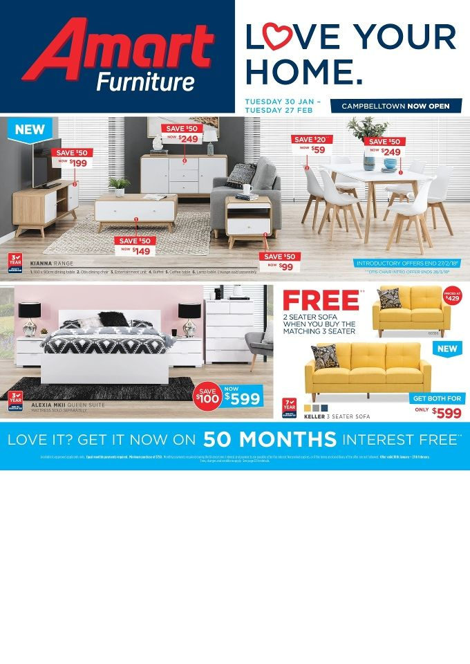 Amart Furniture Catalogue 30 January   27 February 2018    Http://olcatalogue.