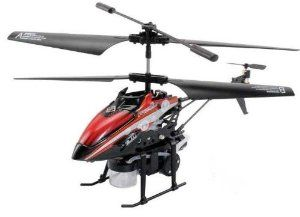 "Toys Agency Bubble Copter, WL Products - 3.5 CH Mini Radio Shooting Bubble RC Helicopter Gyro V757- This 3.5 CH mini RC helicopter with bubble shooting option, built-in Gyro, extremely light weight, strong resistance of impact, Infrared Control. Color RED by WL. $29.85. Use time : Approximated 5-7 Mins. Controller Battery : 6x""AA"" batteries (Not included). Function: Up/down,Left / Right,Forward / Backward, Bubble Shooting. Charge time :Approximated 40-50 min. Control..."
