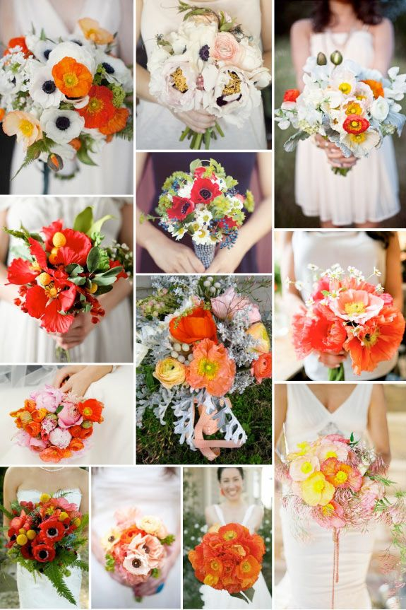 Are your wedding flowers in season wedding vision pinterest love the bold orange gold tones with green accents against the white mightylinksfo