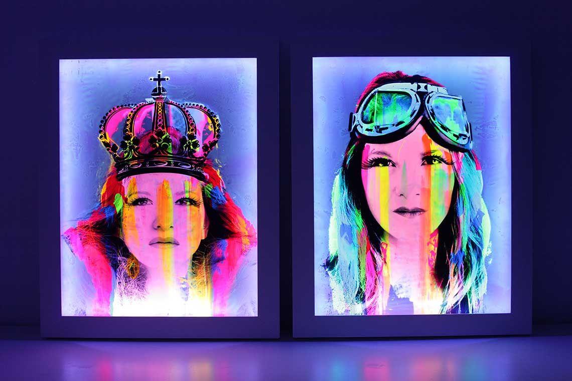 Pinturas Fluorescentes Para Luz Negra Barcelona Luz Negra Fisiograma Pinturas