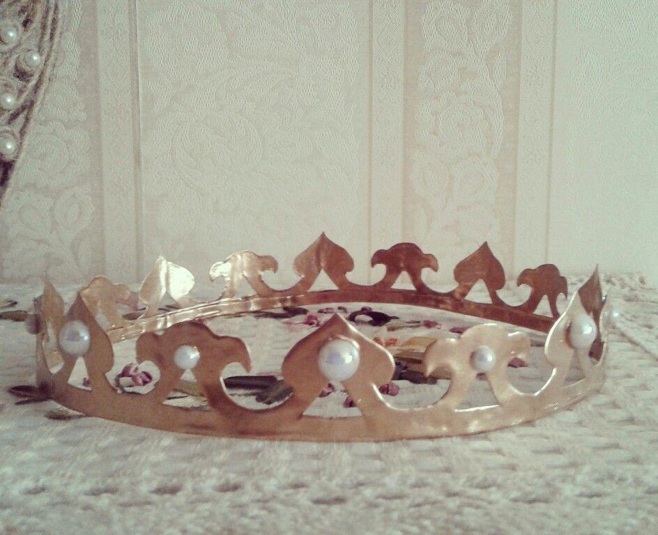 Как сделать платиновую корону 620