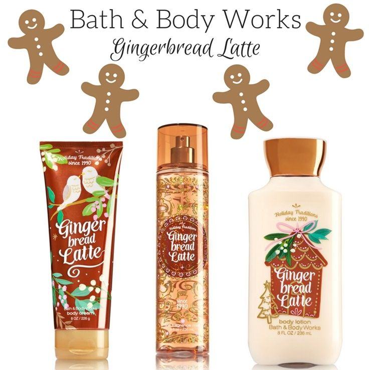 Bath Body Works Gingerbread Latte Arrives For The Holidays