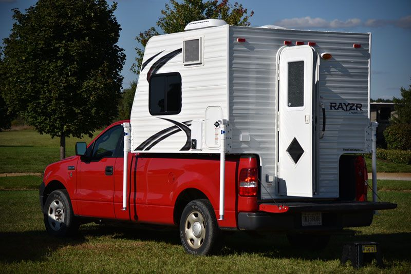 2016 Rayzr FB Review | Truck Campers | Truck camper, Short