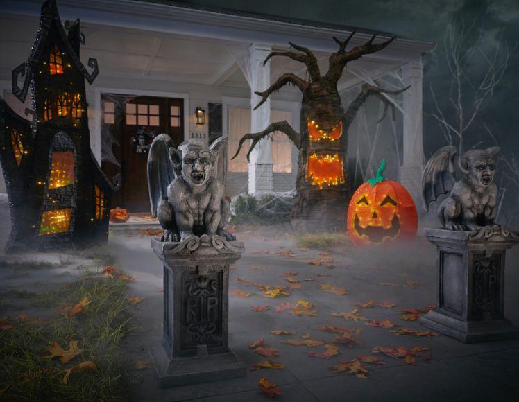 Halloween Decorations The Home Depot Halloween Outdoor Decorations Awesome Outdoor Halloween Decorations Halloween Decorations