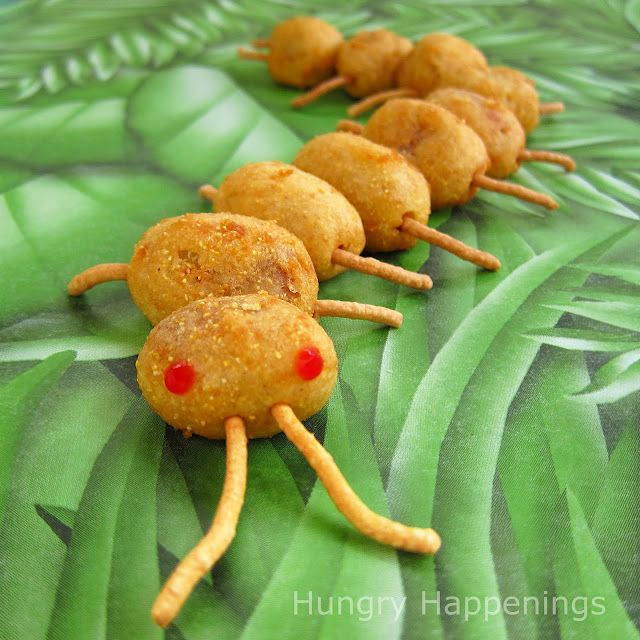 Creepy corn dog centipedes for halloween or a bug themed party creepy corn dog centipedes for halloween or a bug themed party easy how to forumfinder Gallery