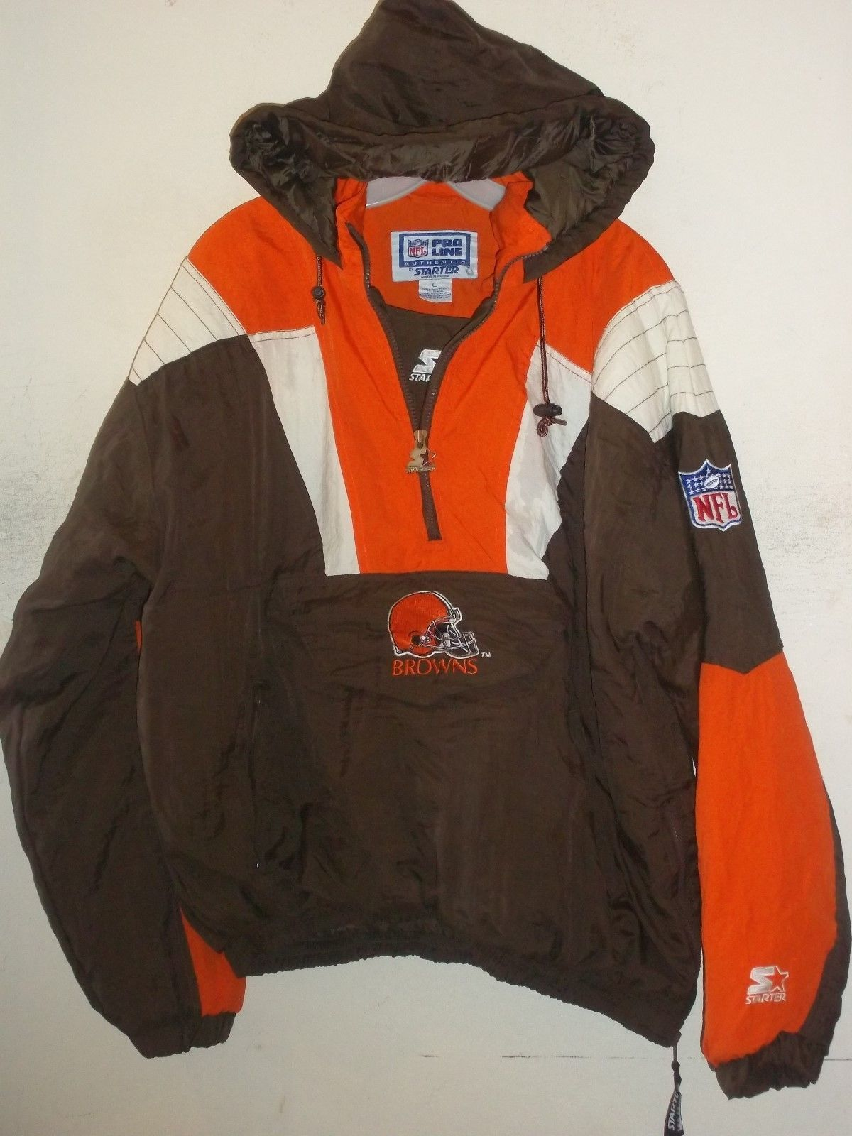 new arrival 4890c 1dbd6 Cleveland Collectionary Line Starter Jackets Browns Size ...