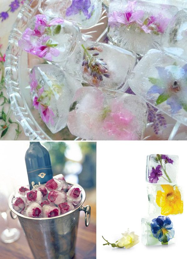 pretty ice to wow your guests ;)