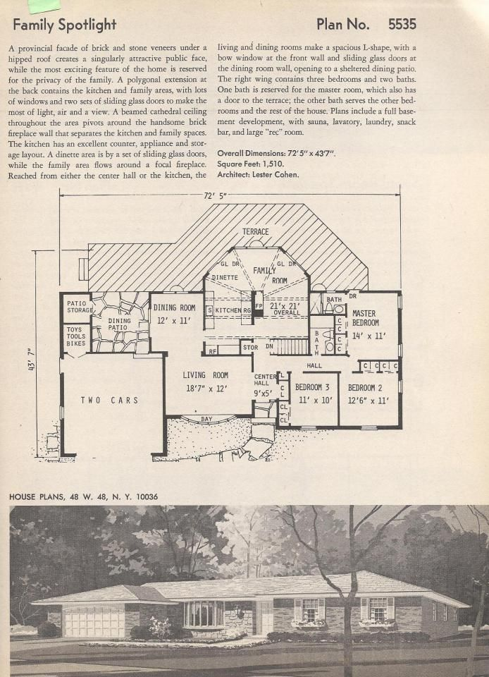 Vintage House Plans I Want To Build My Next House