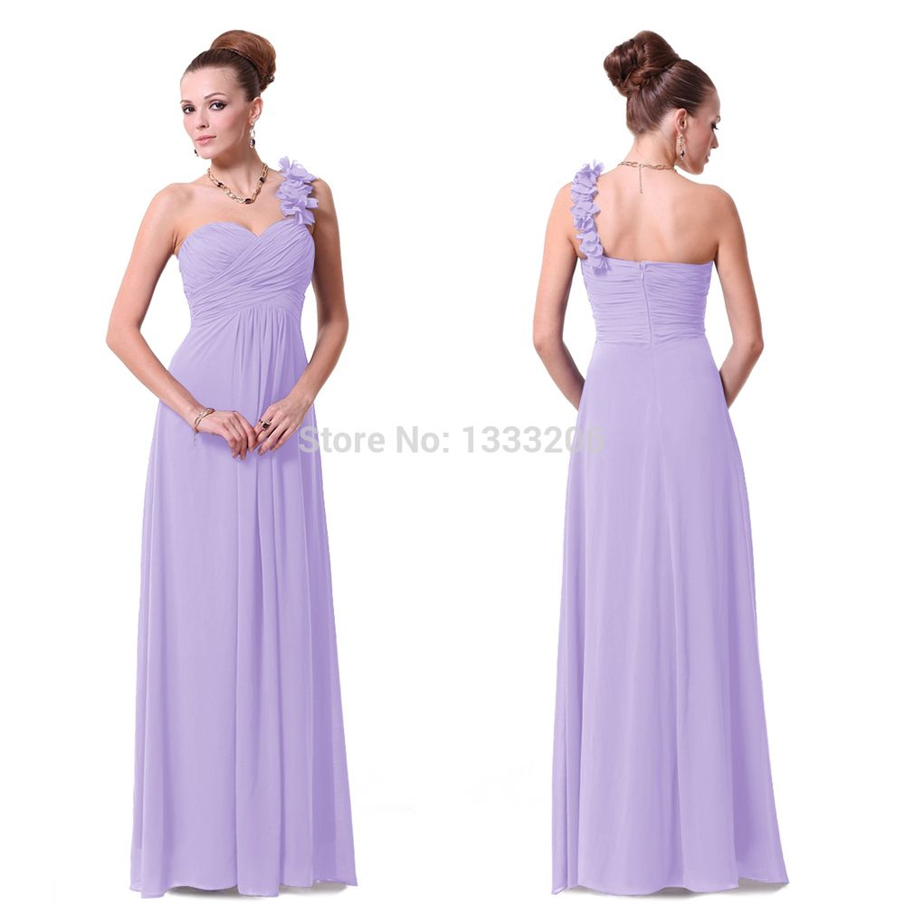 Click to buy 2015 he09768 sapphire blue flowers shoulder click to buy 2015 he09768 sapphire blue flowers shoulder chiffon padded long prom dresses under 100purple prom dressesbridesmaid ombrellifo Images