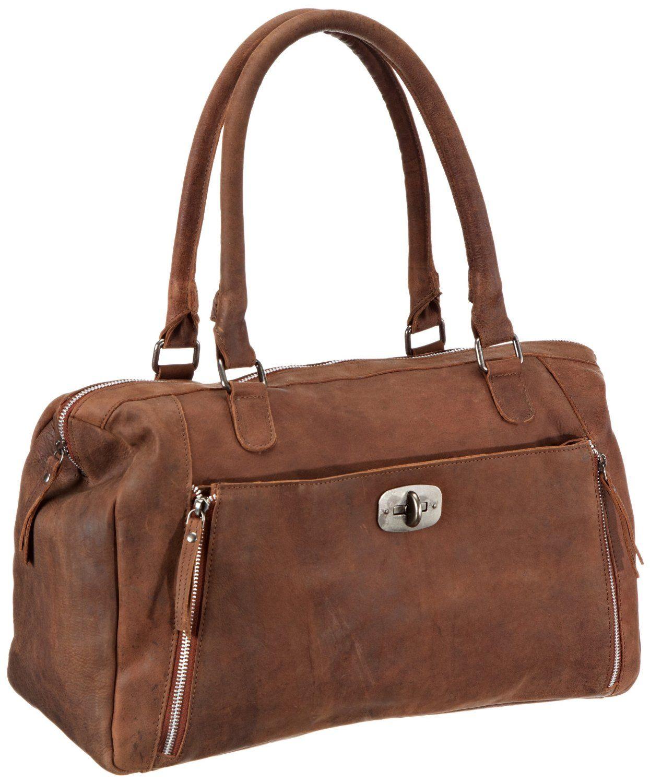 d6889d859d3b Adax maanii BAG Shoulder Bag Womens Brown Braun (Cognac 03) Size  41x30x17  cm (B x H x T)