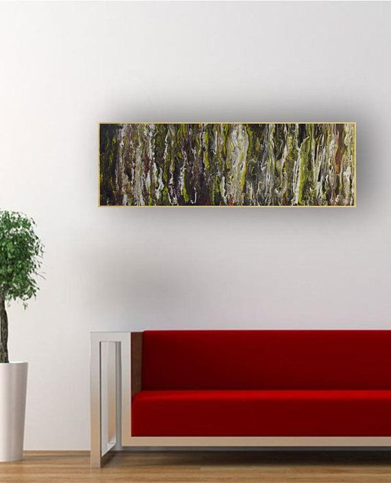 Living Room Abstract Wall Art Swamp