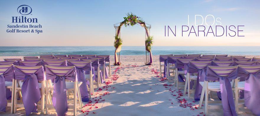 Destin Beach Weddings Florida Hilton Sandestin Beach Resort Beach Destination Wedding Romantic Beach Wedding Dream Beach Wedding