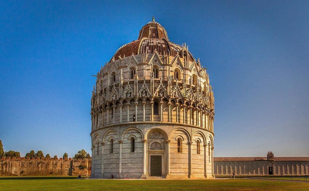 Battistero di San Giovanni in Pisa by RIck McEvoy ...