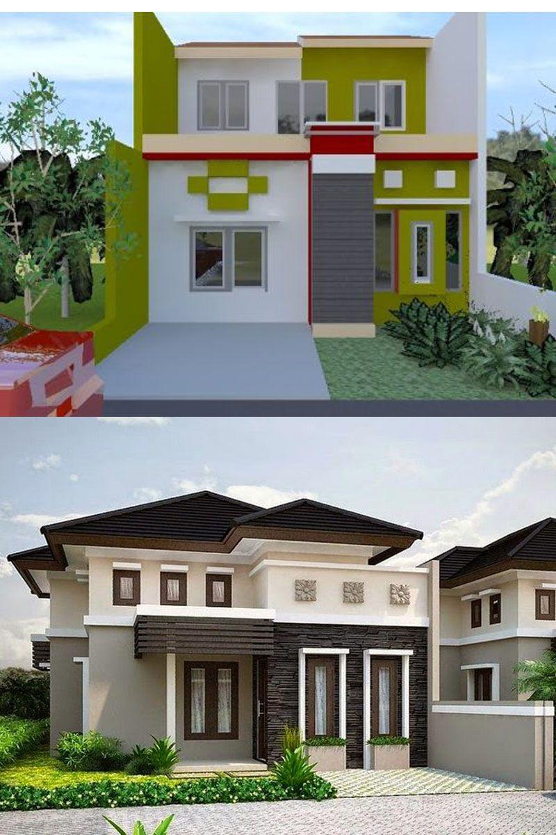 Desain Warna Cat Exterior Rumah Minimalis Architect Design House Styles House Exterior Warna cat eksterior rumah