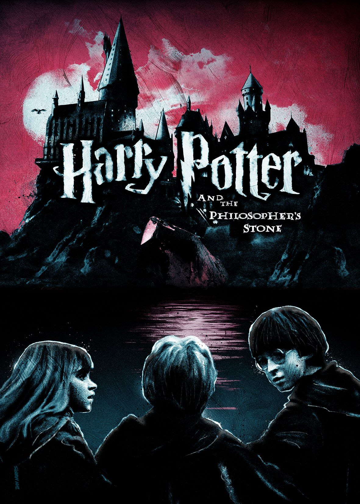 Harry Potter And The Philosopher S Stone Philosophers Stone Alternative Movie Posters Harry Potter