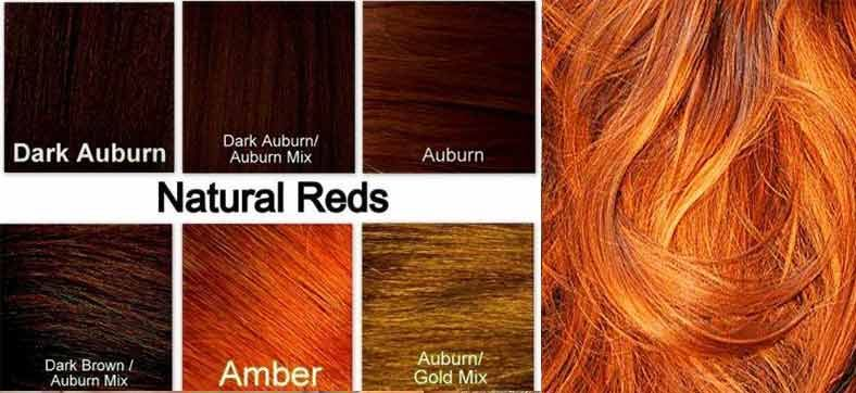 Ginger Hair Color Dye Best On Dark SkinChart How To Use
