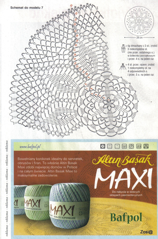 diagram crochet coaster apollo 65 base wiring model 7 doily 39s runner