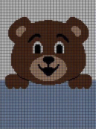 Teddy Bear Hanging On Crochet Pattern