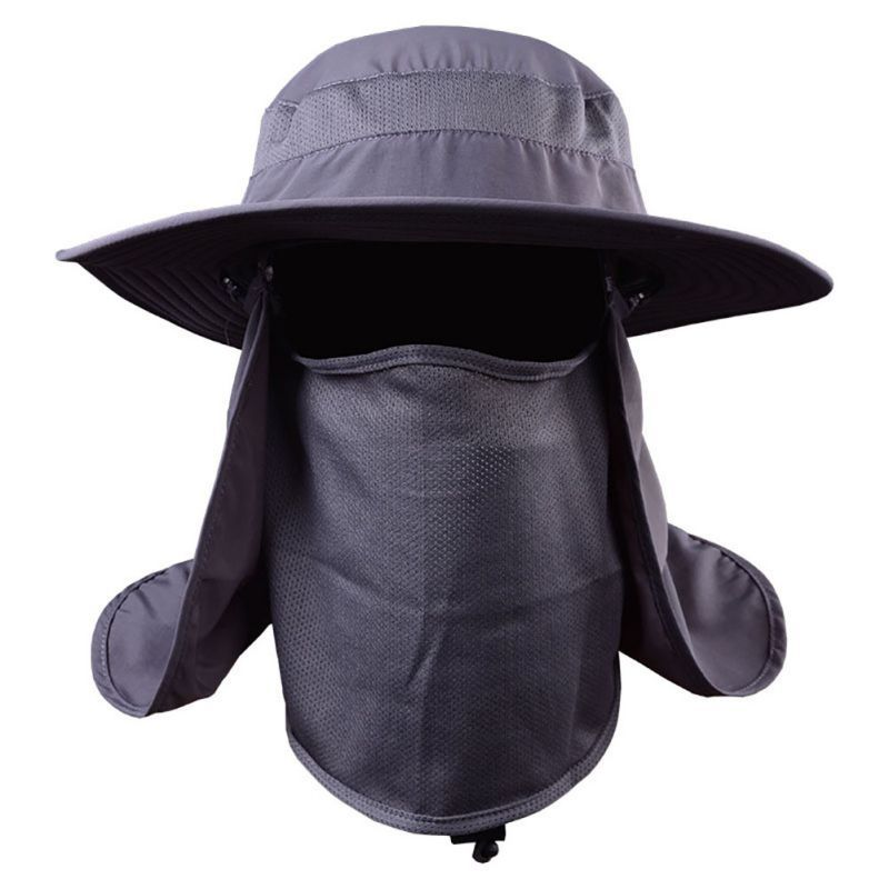 c5ce8aac4ce Women Man Outdoor Sport Fishing Hiking Hat UV Protection Face Neck Flap Sun  Cap
