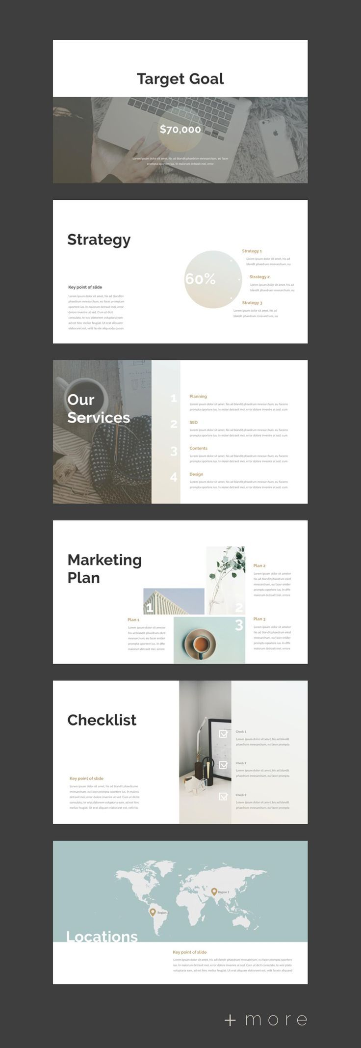 Planner Presentation Template 2018 Business Planning Ppt Power Plant Layout