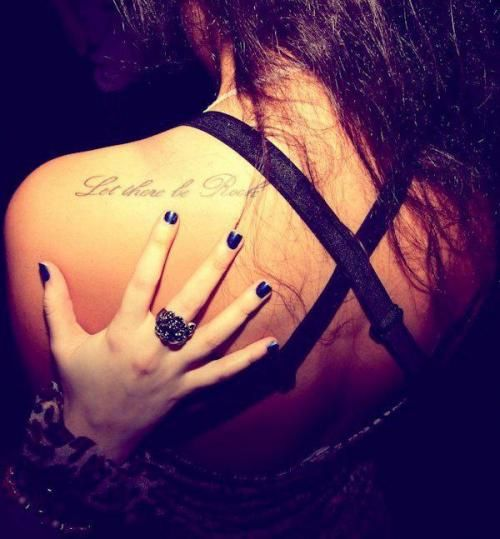 Tattoo Rock Quotes: ... Lyric Tattoos, Tattoo Quotes Ideas
