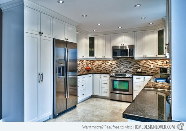 15 Contemporary U Shaped Kitchen Designs Kitchen Remodel Plans