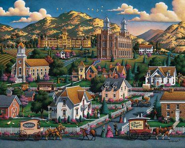 Logan Summer (500 Piece Puzzle by Dowdle)
