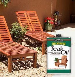 Minwax Helmsman Teak Oil Finish Minwax Teak Patio Furniture Outdoor Wood Furniture Teak Oil
