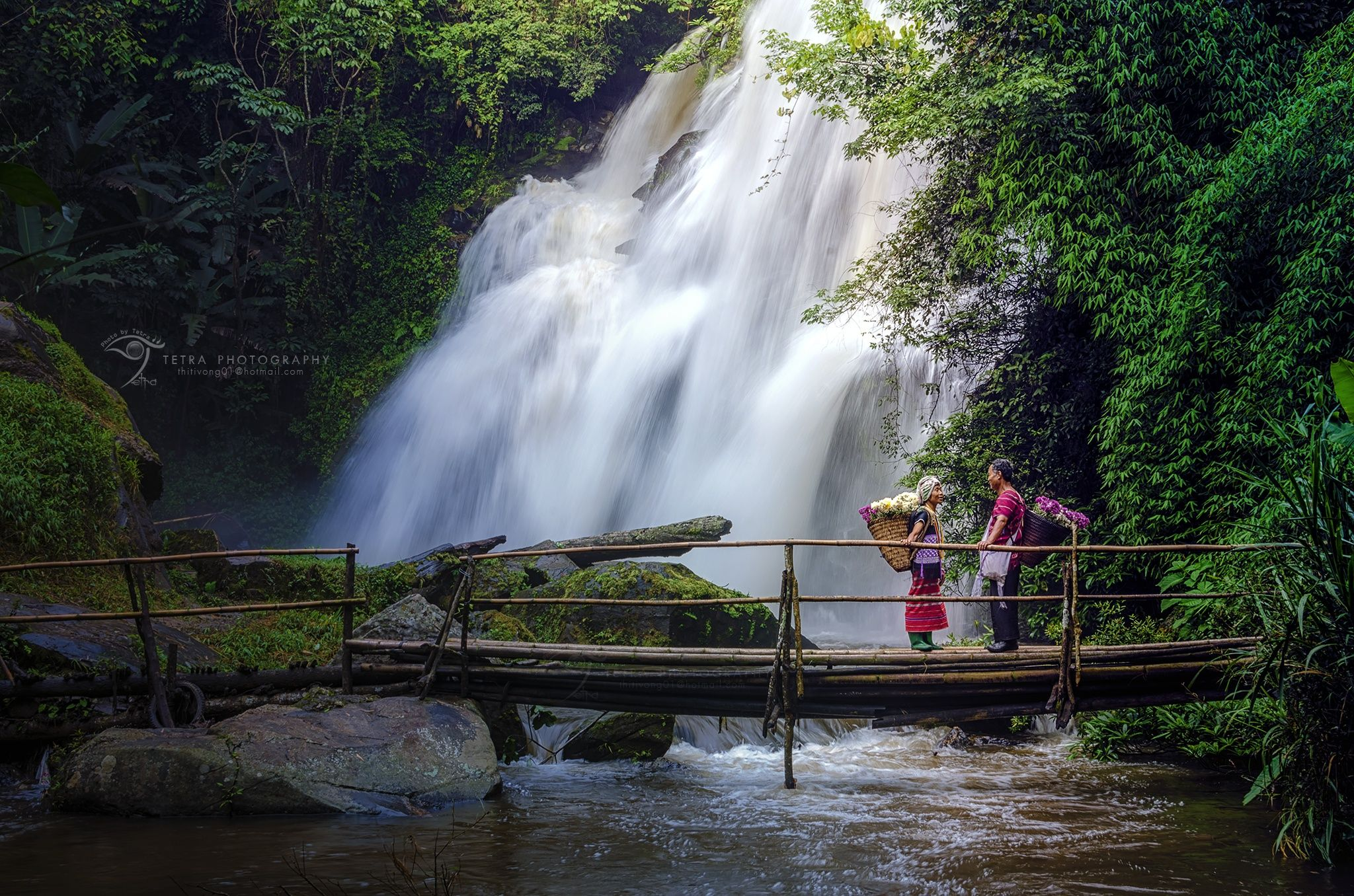 Beautiful Waterfall In Thailand Stock Image Of Jungle Purity 26383973