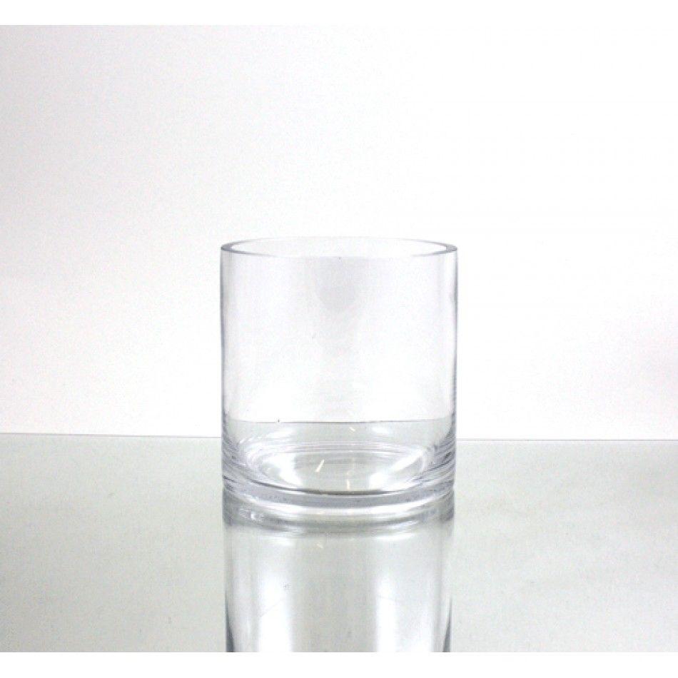 6 x 6 Clear Glass Cylinder Vase [VCY0606 Bulk Glass Cylinder Vase ...