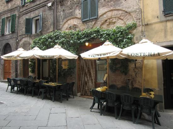 SIENA, L'Osteria, Via dei Rossi. A great meal at local