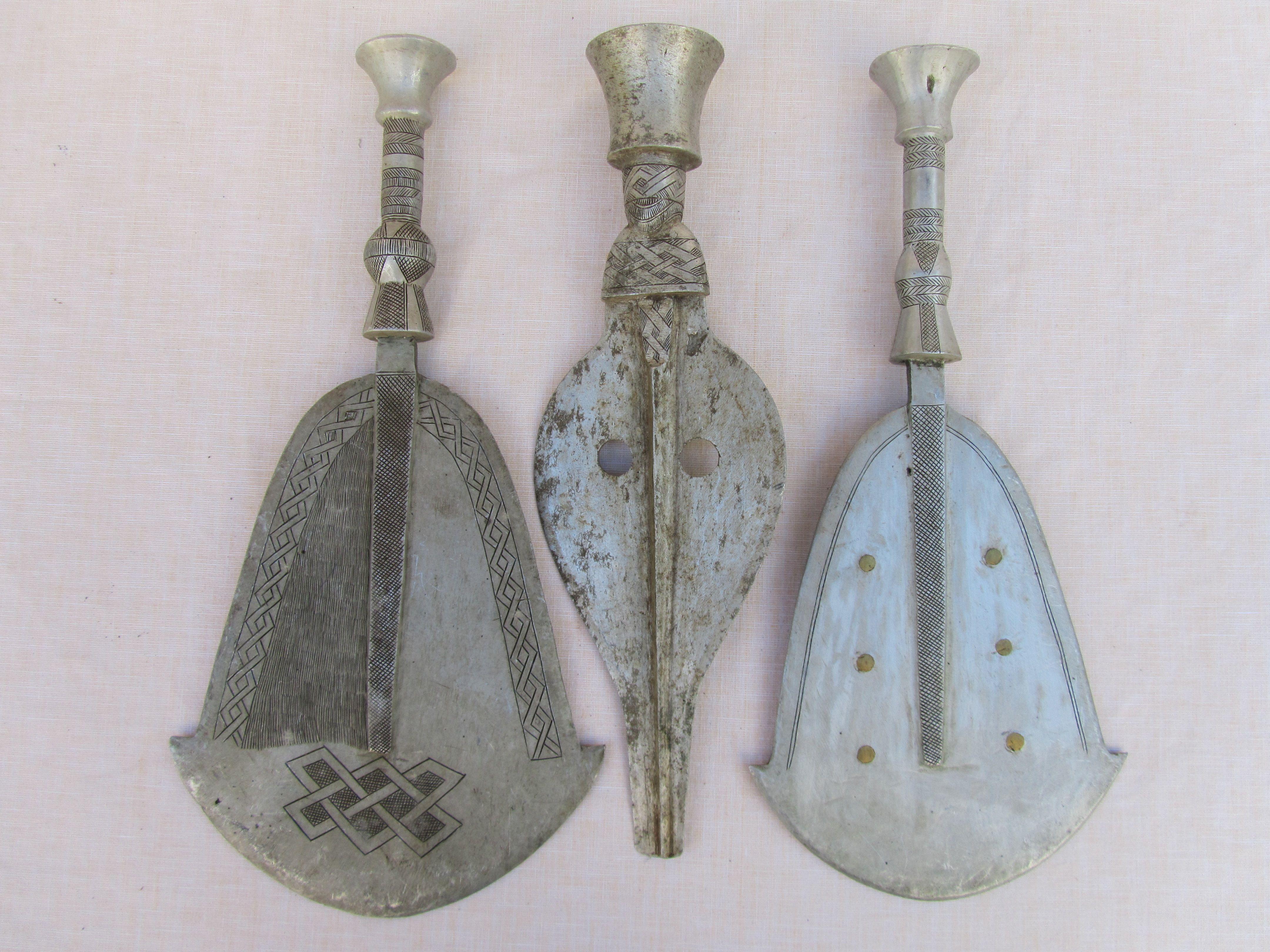 3 Metall-Messer, Sammlung HHH | Aluminium | Pinterest