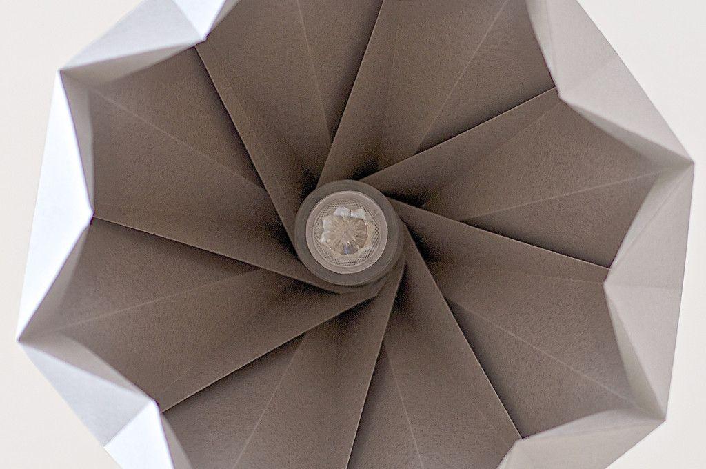 Spring Origami Lamp