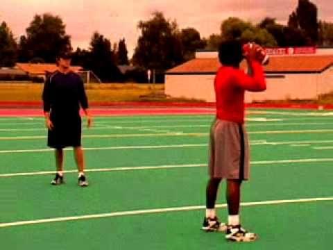 Nike Football Qb Drills Football Drills Nike Football Youth Football