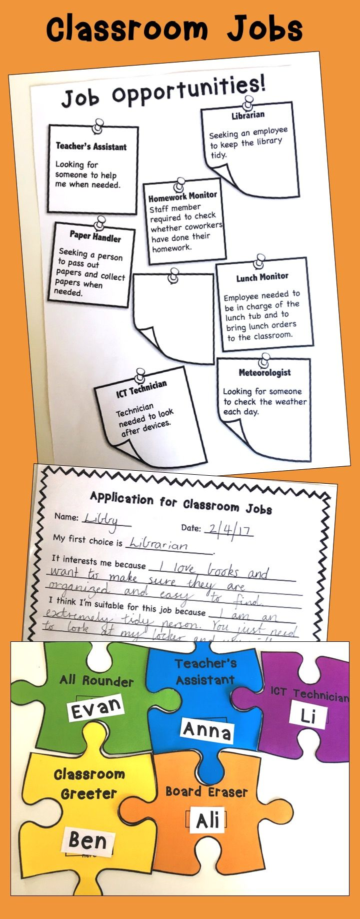 This free resource is designed to help you organize classroom jobs this free resource is designed to help you organize classroom jobs in your classroom students falaconquin
