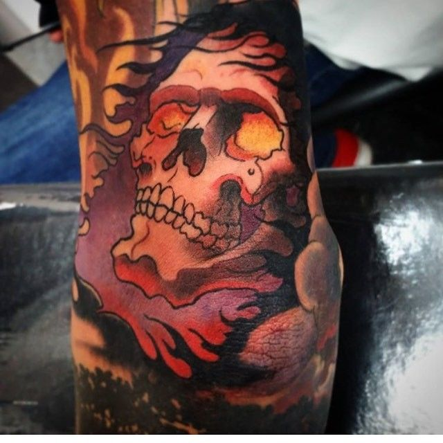 Tattoo By Yoakumart From Urban Body Piercing And Tattoo