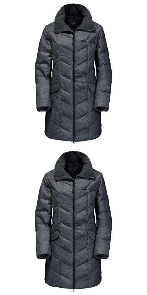12871a7d91a Jack Wolfskin Women's Baffin Bay Coat, Black, XX-Large | Down ...