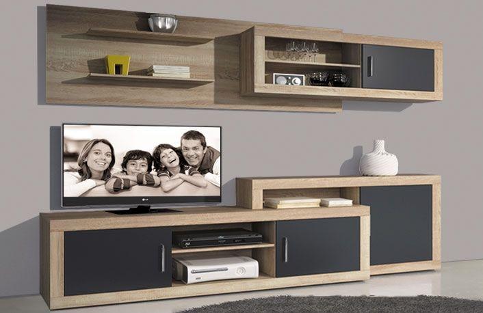 Muebles de Salón de 240 cm. extensible   Muebles   Pinterest ...