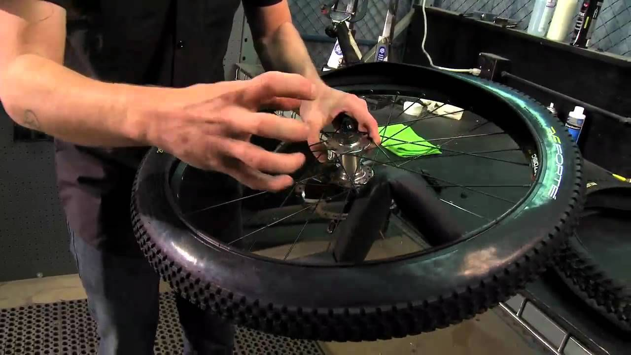 Changing A Mountain Bike Tire From Performance Bicycle Mountain