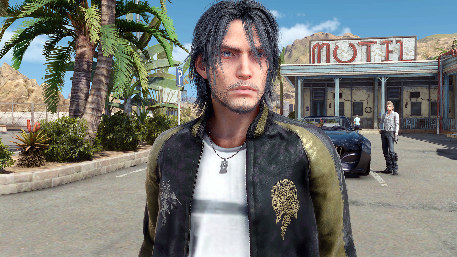 Older Noctis and Gold Lucian Jacket Retexture at Final Fantasy XV